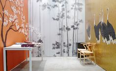 International furniture fair in Paris, France 2013