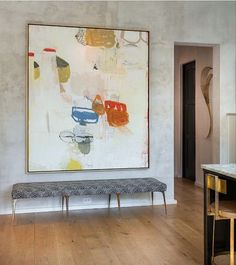 Contemporary Painting – Just what is it? – Buy Abstract Art Right Contemporary Abstract Art, Modern Art, Design Entrée, Design Trends, Design Ideas, Entry Way Design, Large Art, Painting Inspiration, New Art
