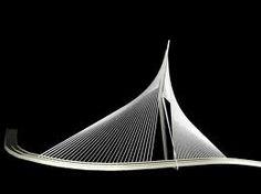 Calatrava bridge Jerusalem, Israel