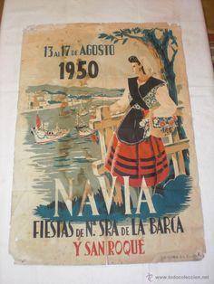 Fiestas de Navia, 1950.