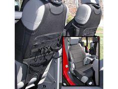 Rugged Ridge Seat Protector Pair Neoprene - Black (07-17 Wrangler JK)