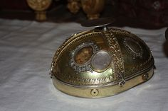 Reliquiario del capo di S. Sebastiano, chiesa di S. Sebastiano, Ebersberg, Germania,