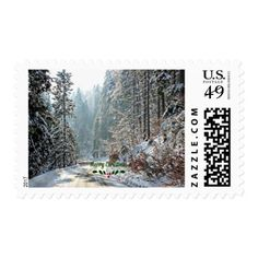 White Christmas in the Country Postage