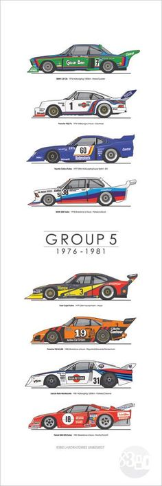 Group  5 1976-1981 by 8380 Laboratories