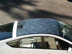 Toyota Prius gets greener with solar roof, improves performance, effeciency. Solar Car, Solar Roof, Toyota Cars, Toyota Prius, Gas And Electric, Electric Cars, Japan Tourism, Minivan Camping, Car Fix