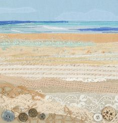 Alison is a Devon based textile artist inspired by the coast and countryside. Free Motion Embroidery, Applique Embroidery Designs, Applique Quilts, Embroidery Art, Landscape Art Quilts, Fabric Pictures, Textiles, Textile Artists, Fabric Art