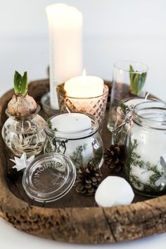 Hygge i rækkehuset: Jul i god tid - Boligliv - ALT. Hygge Christmas, Noel Christmas, Scandinavian Christmas, Winter Christmas, Christmas Crafts, Holiday, Christmas Tables, Family Christmas, Natal Natural