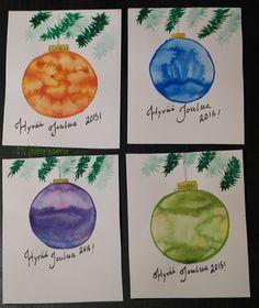Mielenmaisemia: joulukortteja