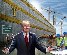 """Big, ugly, tall, fat, and golden. Oh, it will also have his name on it. Kinda like every other thing he builds, or the Trump Tower he tried to build in Russia, but it fell through. Boo hoo. Ugly MF isn't it? But Paul Ryan to escape further """"wrath"""" due to failure of health care repeal is putting money in some bill somewhere, likely well hidden, to pay for it. Gotta win his """"master's"""" support back somehow, huh?"""