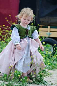 Renaissance Faire Has everything there... long skirt vest and on outer dress, Nichole she kinda looks like an older Autumn.. hehe