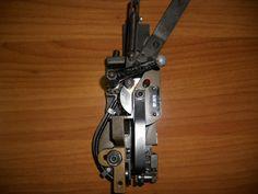 Teste di cucitura per macchine Muller Martini. Modello HK 75 (standard) e modello HK 45 (per punti piccoli)