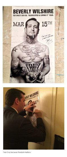 Ted Cruz...