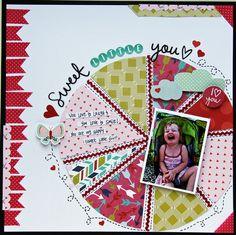 Sweet Little You *My Creative Scrapbook Feb. Creative Kit*