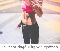 jak schudnąć 4 kg w tydzień