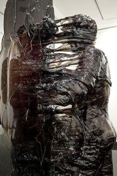 Fiber glass sculpture: nick van woert