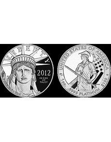 U.S. Mint sales of the Proof 2012-W American Eagle platinum $100 bullion coin begin Aug. 9.