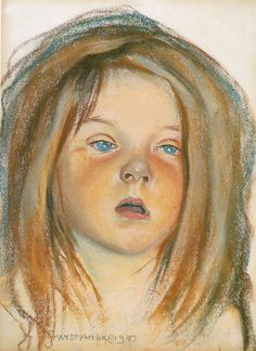 This painting was hanging during many many years in my bedroom by Stanislaw Wyspianski Planes Of The Face, Portraits, Art Festival, Art And Architecture, Painting For Kids, Figurative Art, Great Artists, Female Art, Art History