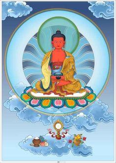Amitabha Buddha, Gautama Buddha, Tibetan Art, Tibetan Buddhism, Becoming A Buddhist, Vajrayana Buddhism, Buddhist Philosophy, Street Art, Buddha Art