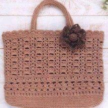 Free Crochet Bag Patterns Part 25 - Beautiful Crochet Patterns and Knitting Patterns Free Crochet Doily Patterns, Free Crochet Bag, Bag Pattern Free, Crochet Tote, Crochet Handbags, Crochet Purses, Knitting Patterns, Handbag Patterns, Crochet Accessories