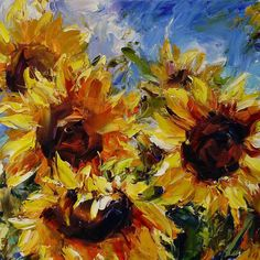 Lyudmila Agrich | Open to Sun | Oil on Canvas | 24 x 30