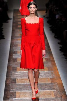 Ava Smith Photos Fall 2012 Ready-to-Wear Valentino - Runway  on Style.com