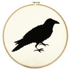 The Raven PDF Pattern | What Delilah Did