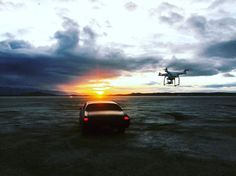 Shootin the sunrise on a dry lake bed outside of LA. Rise and shine! 🌅🎥😃 . Photo by @liftedfilmsmedia . #dronedudes #sunrise #goldenhour #morningflight #drone #dji #phantom3 #props #carspot #cali #fly #filmmaking #carchase #quadcopter #creative #film . WWW.DRONEDUDES.COM Visit our Site: https://www.areagoods.com