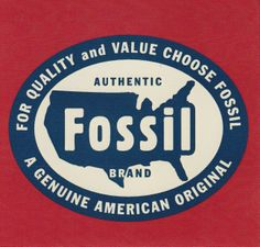 Vintage Fossil T Shirt Graphic Us Map