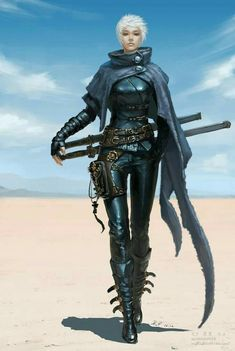 Court warrior or assassin, fantasy character inspiration Check out this awesome piece by 笑 笑 on Dnd Characters, Fantasy Characters, Female Characters, Fantasy Women, Fantasy Girl, Dark Fantasy, Fantasy Inspiration, Character Inspiration, Character Portraits