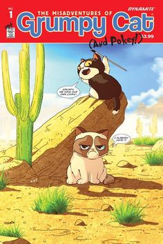 Issue #1 of Grumpy Cat's comic is out TODAY