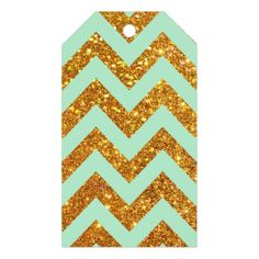 Turquoise Jade Girly Gold Glitter Chevron Pattern Pack Of Gift Tags Turquoise Jade Girly Gold Glitter Chevron Pattern. A modern, bright and girly stylish geometric chevron pattern featuring teal color scheme with turquoise, jade zigzag on a glamorous gold glitter chevron background. The perfect trendy gift for her, the fashion and trends lover. #teal #jade #gold #turquoise #gold #glitter #chevron #gliiter #girly #chevron #pattern #zigzags #gold...