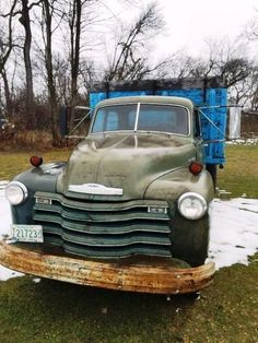 Motor has been updated with a 1955 Chevy truck 235 which was rebuilt. Chevy Pickup Trucks, Classic Chevy Trucks, Chevy Pickups, Chevrolet Trucks, Gmc Trucks, Chevy Trucks Older, Weathered Paint, 1955 Chevy, Farm Trucks