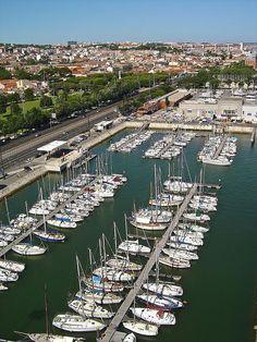 Belém marina #Lisboa. #Portugal