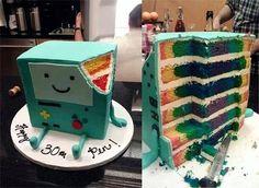 Adventure Time! BMO cake
