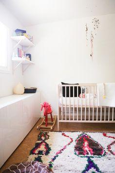 Ikea cabinets for storage in nursery