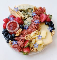 """Labor Day: That """"Red White + Blue Cheese"""" Plate"""