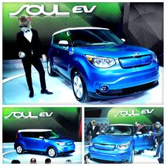 Kia's eco-friendly commitment holds strong with the unveiling of the Soul EV at the 2014 Chicago Auto Show.