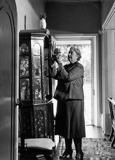 At home, 1950