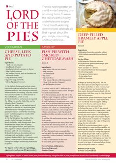 ~ Lord of the pies ~ #food #pies #savoury #sweet #locallife #Haslemere #Surrey