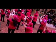 ▶ Red Hat Society performs Flash Mob - YouTube
