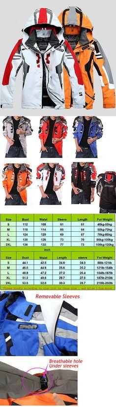 Snowsuits 62178: Men S Winter Warm Ski Suit Jacket Waterproof Coat Snowboard Clothing Snowsuits -> BUY IT NOW ONLY: $56.39 on eBay!