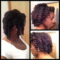 Natural Hair- Chunky Twist Out