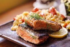 Saumon moelleux et croustillant (épices à légumes Épices de cru)