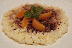 Pudingová mliečna ryža - Chutný rýchly obed, či večera. Risotto, Grains, Ethnic Recipes, Food, Essen, Meals, Seeds, Yemek, Eten