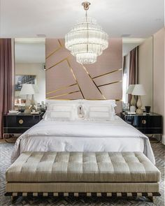 best master bedroom ideas you're dreaming of 4 Luxury Bedroom Design, Master Bedroom Interior, Guest Bedroom Decor, Modern Master Bedroom, Bedroom Bed Design, Home Room Design, Bedroom Wall, Bedroom Ideas, Luxurious Bedrooms