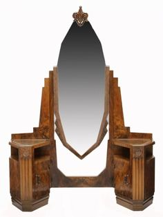 Art Deco furniture makes your house look like a Metropolis set... oh yes, please!
