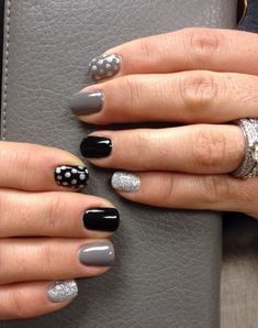 Polka Dot Nails Designs 2
