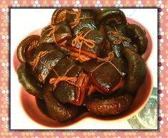 concon 煮意 blog: 黑豉油花菇東坡肉