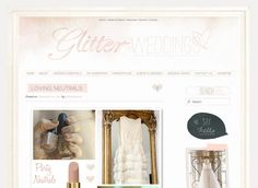 Web design by Tabitha Emma  -watercolour  -headers  -social media buttons