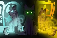 Stars in their paws Jayfeather, Hollyleaf and Lionblaze Warrior Cats, Daughter, Stars, Bedroom, Home Decor, Homemade Home Decor, Bedrooms, Interior Design, Home Interiors